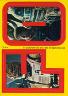 1980 Topps Empire Strikes Back Series 1 Sticker Set (33)
