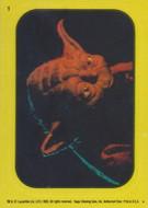 1983 Topps Return of the Jedi Series 1 Sticker Set (66)