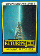 1983 Topps Return of the Jedi Series 2 Card Set (88)