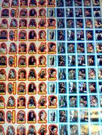 1983 Topps Return of the Jedi Series 2 Sticker Uncut Sheet (132)