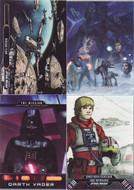 2015 Topps Star Wars Illustrated: Empire Strikes Back Set + 3 Chase Sets (138)