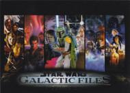 2013 Topps Star Wars Galactic Files Series 2 Set + 4 Chase Sets (367)