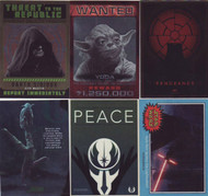 2015 Topps Star Wars Chrome Perspectives Jedi vs Sith Mini Master Set (158)