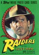 1981 Topps Indiana Jones Raiders of the Lost Ark Set (88)