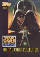 1993 Topps Star Wars Galaxy Series 1 Set (140)