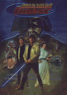1996 Topps Star Wars Finest Set (90)