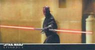 1999 Topps Star Wars The Phantom Menace Episode 1 3D Widevision Master Set (49)