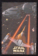 1999 Sandylion Star Wars The Phantom Menace Episode 1 Sticker Set (12)
