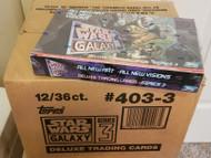 1995 Topps Star Wars Galaxy Series 3 Factory Sealed Box