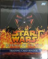2005 Topps Star Wars Revenge of the Sith Binder
