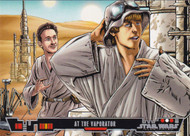 2013 Topps Star Wars Illustrated: A New Hope Set + Poster + One Year Earlier Sets (127)