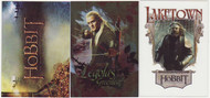 2014 Cryptozoic Hobbit: Desolation of Smaug Set + Character Bio + Lake-Town Sets (87)