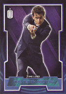 2015 Topps Doctor Who Blue Parallels #/199