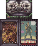 2016 Upper Deck Alien Anthology Set + 2 Chase Sets (120)