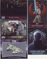 2016 Topps Star Wars The Force Awakens Chrome Ultimate Mini Master Set (253)