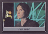 2016 Topps Star Wars Rogue One Mission Briefing Death Star Black Parallel Set (110)