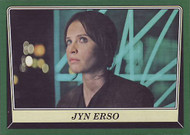 2016 Topps Star Wars Rogue One Mission Briefing Green Squadron Parallel Set (110)