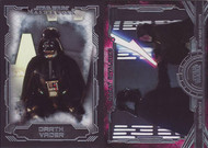 2016 Topps Star Wars Masterwork Base Set (50) + Great Rivalries Set (10)