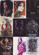 2016 Topps Star Wars Rogue Series 1 Mini Master Set (173)