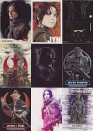 2016 Topps Star Wars Rogue Series 1 Ultimate Mini Master Set (176)