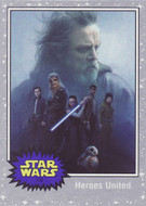 2017 Topps Star Wars Journey to The Last Jedi Silver Parallel Set (110)