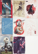 2017 Topps Star Wars The Last Jedi Ultimate Mini Master Set (165)