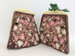 Small Rocky Road Christmas Pudding Cut in half