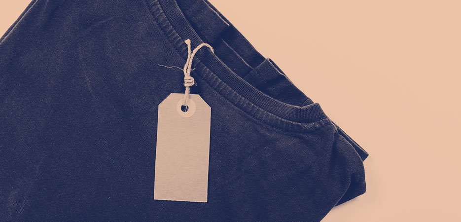 shirt with tag