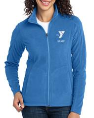 Ladies' Staff Embroidered Lightweight Microfleece Jacket
