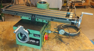 Emco Maximat FB-2 XY Table with hand wheel extenders