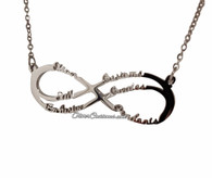 Infinity Name Pendant
