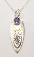 PROTECT SPEAR NECKLACE, IOLITE