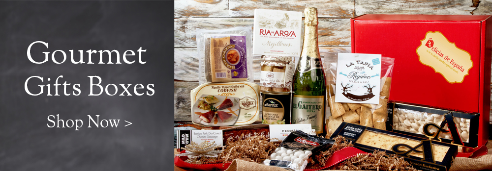 Gourmet gift boxes from Spain
