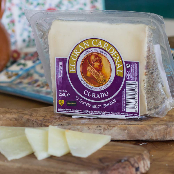 El Gran Cardenal Cured Mixed Cheese 8.8 Ounces