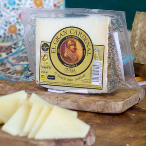 El Gran Cardenal Cured Sheep Cheese 8.8 Ounces