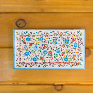 Hand-Painted Serving Tray Small