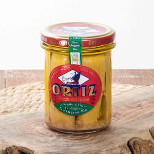 Organic Bonito del Norte in Olive Oil Tuna Loin Ortiz 7.76 Oz