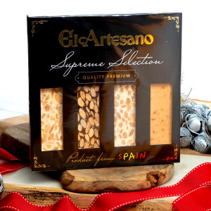 Nougat 4-bars by El Artesano