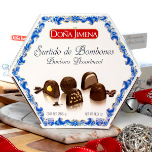 Chocolate Bonbons Assortment by Dona Jimena