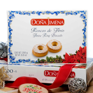 Roscos de Anis - Anise Ring pastries by Dona Jimena