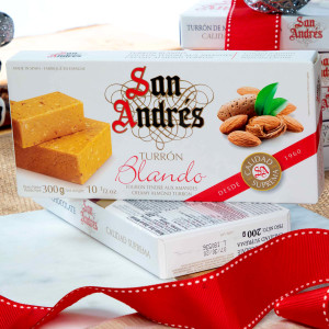 Turron blando by San Andres
