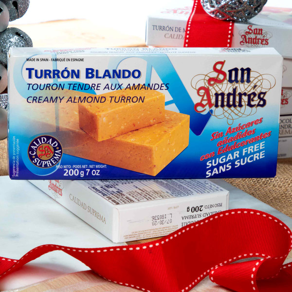 Sugar-free Creamy Almond Nougat by San Andres