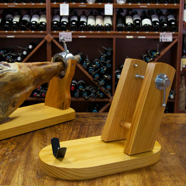 Wooden Ham Holder - Jamonera - Meson