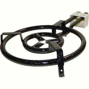 Garcima Two-Ring Gas Burner for Paella 41cm - 16 in