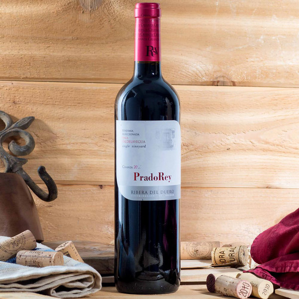 spanish red wine, prado rey crianza 2014
