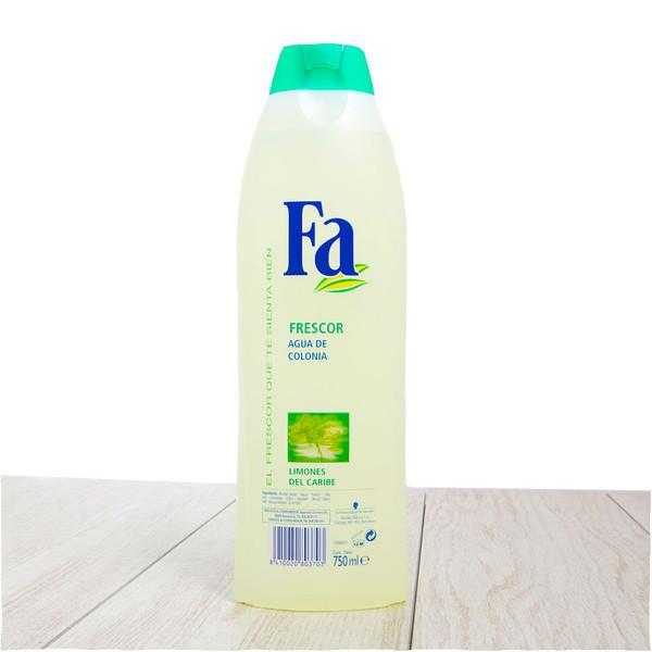 Fa Splash Cologne Caribbean Lime Scent.