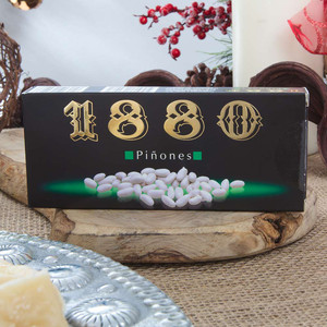 Piñones - Sugar-coated Pine nuts by 1880