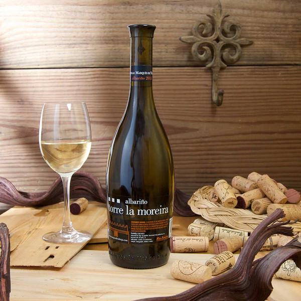Torre la moreira Albariño white wine