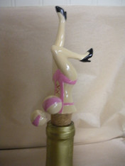 Wine Bottle Topper with spring action knockers.