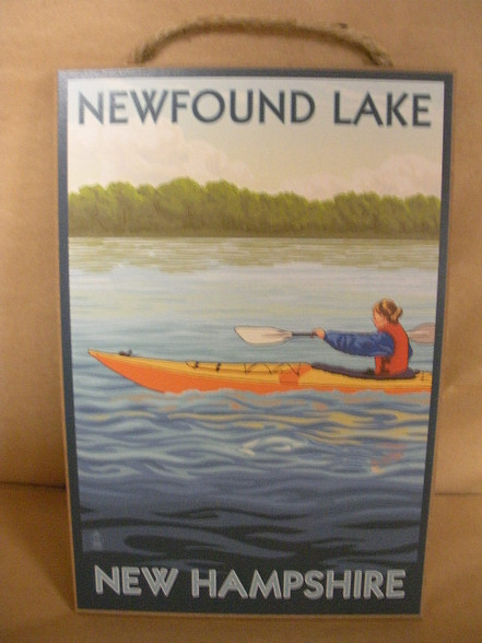 Newfound Lake sign
